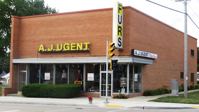 A.J. Ugent Furs Storefront