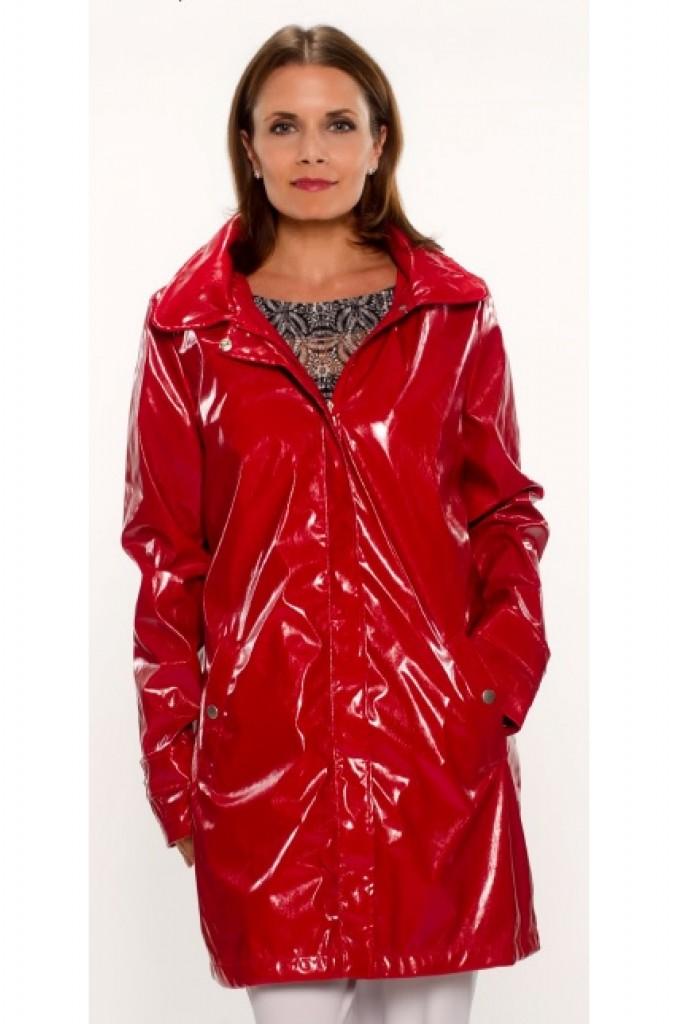 ubu red raincoat