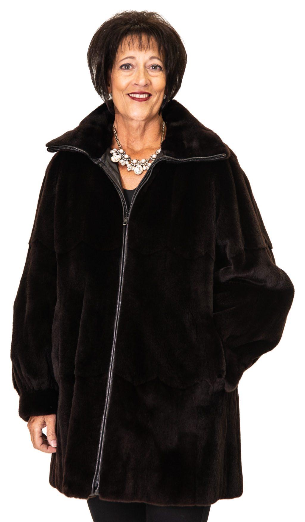 145 2 Reversible Mink Cabretta Lmab Ugent Furs
