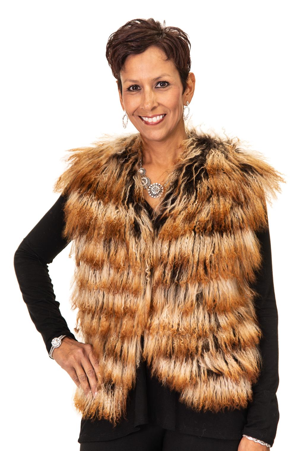 148 2 Tibetan Lamb Vest Ugent Furs
