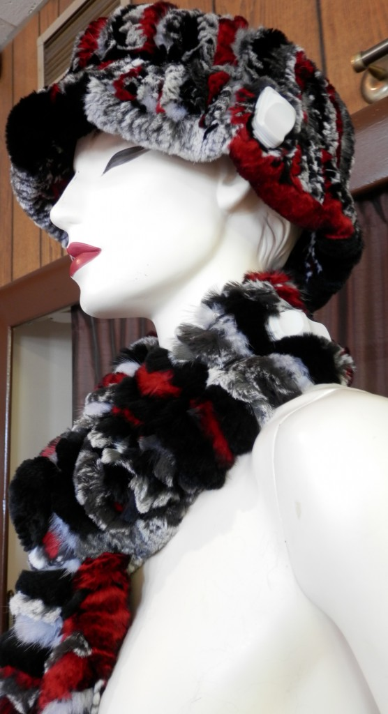 hat and scarf red5