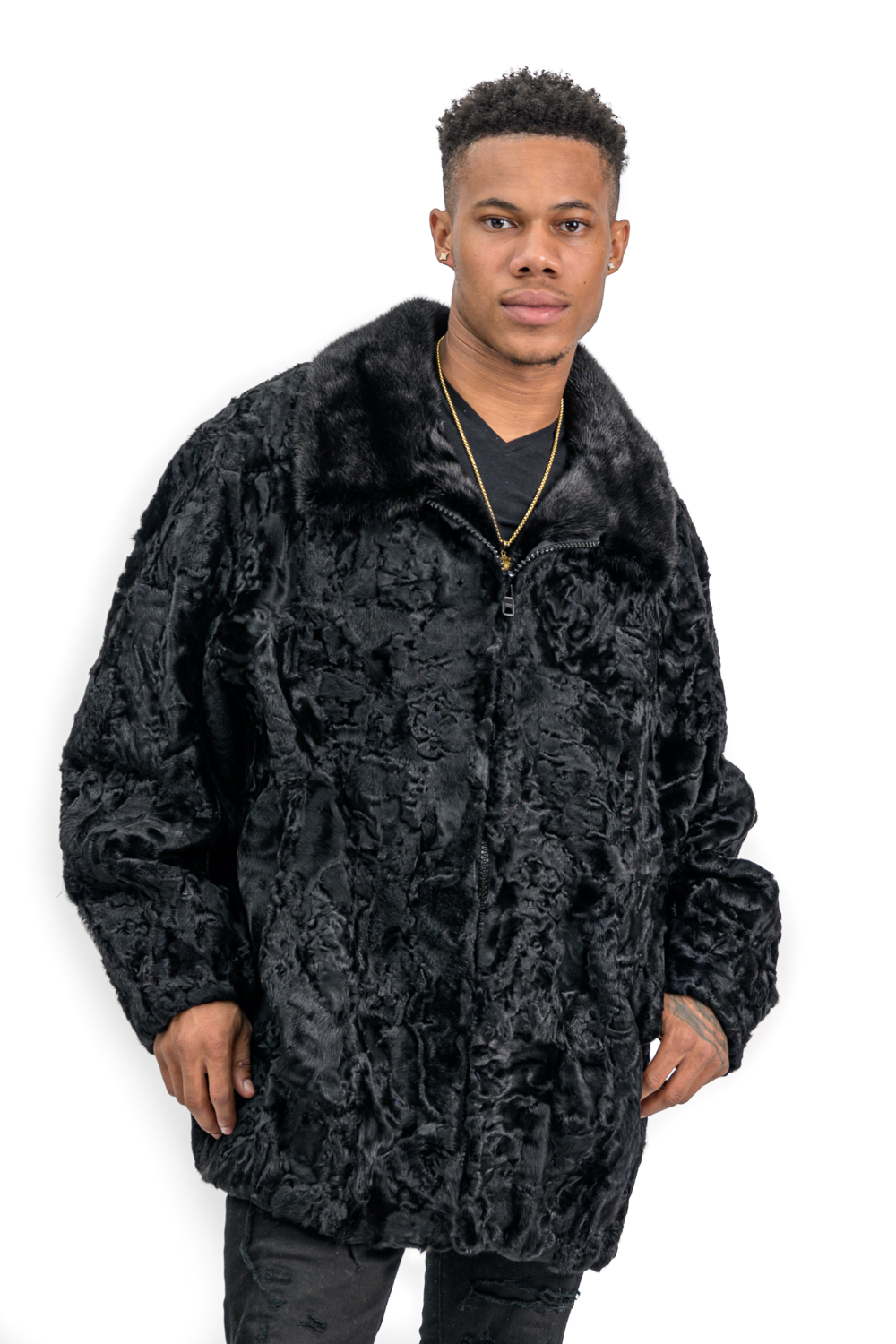 M20 2 Mans Persian Lamb Jacket