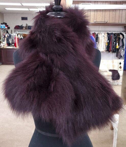 Adrienne Landau scarf Ugent Furs