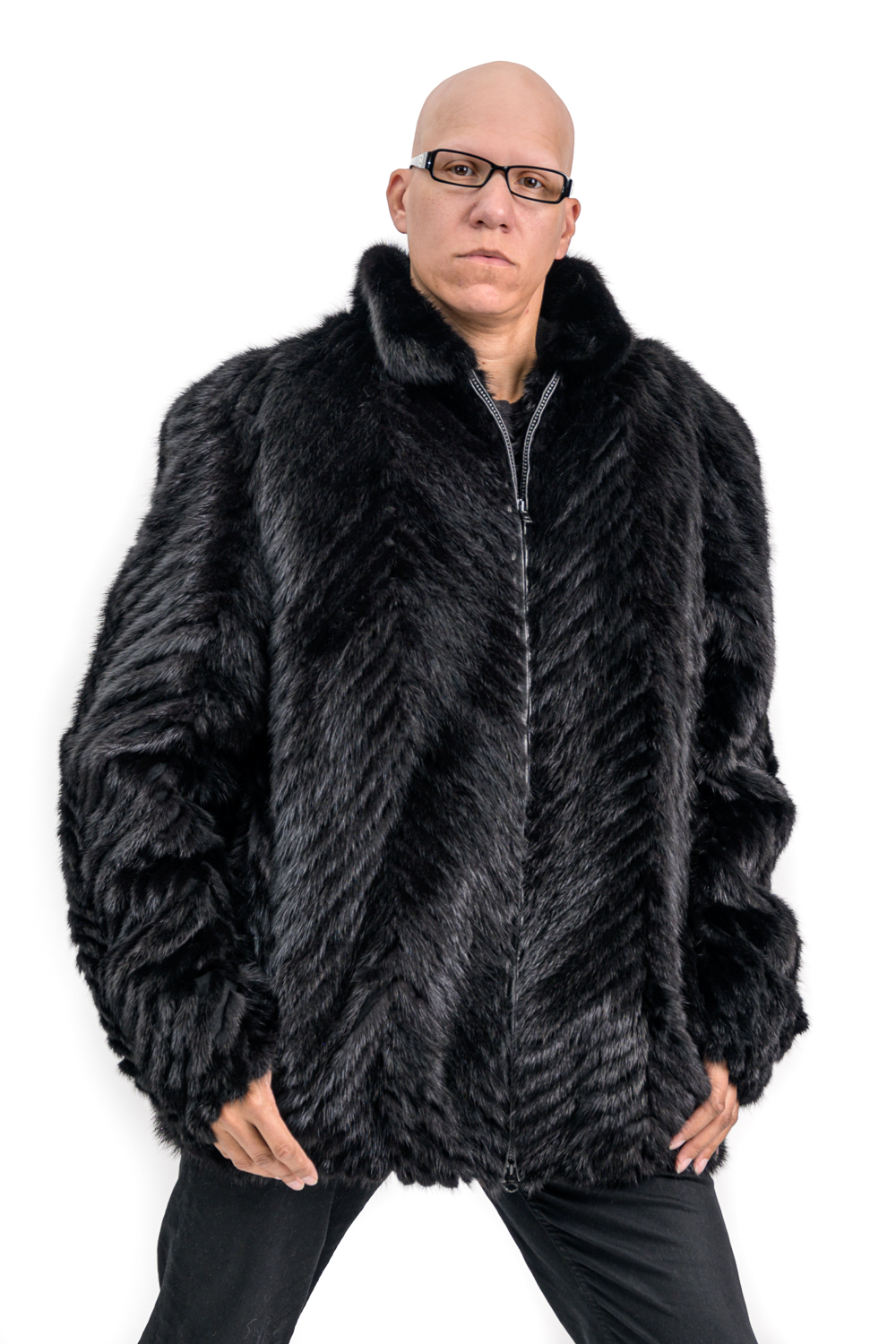 M19 2 Mans Mink Fur Jacket