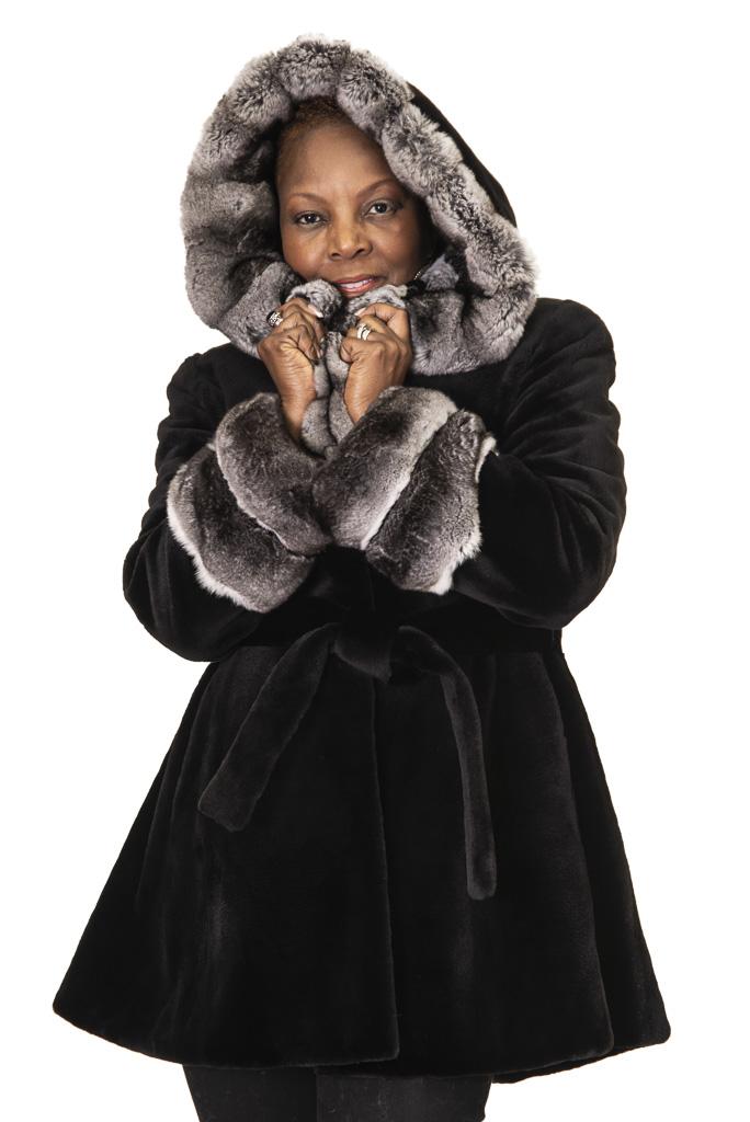 65 3 Sheared Mink Ugent Furs
