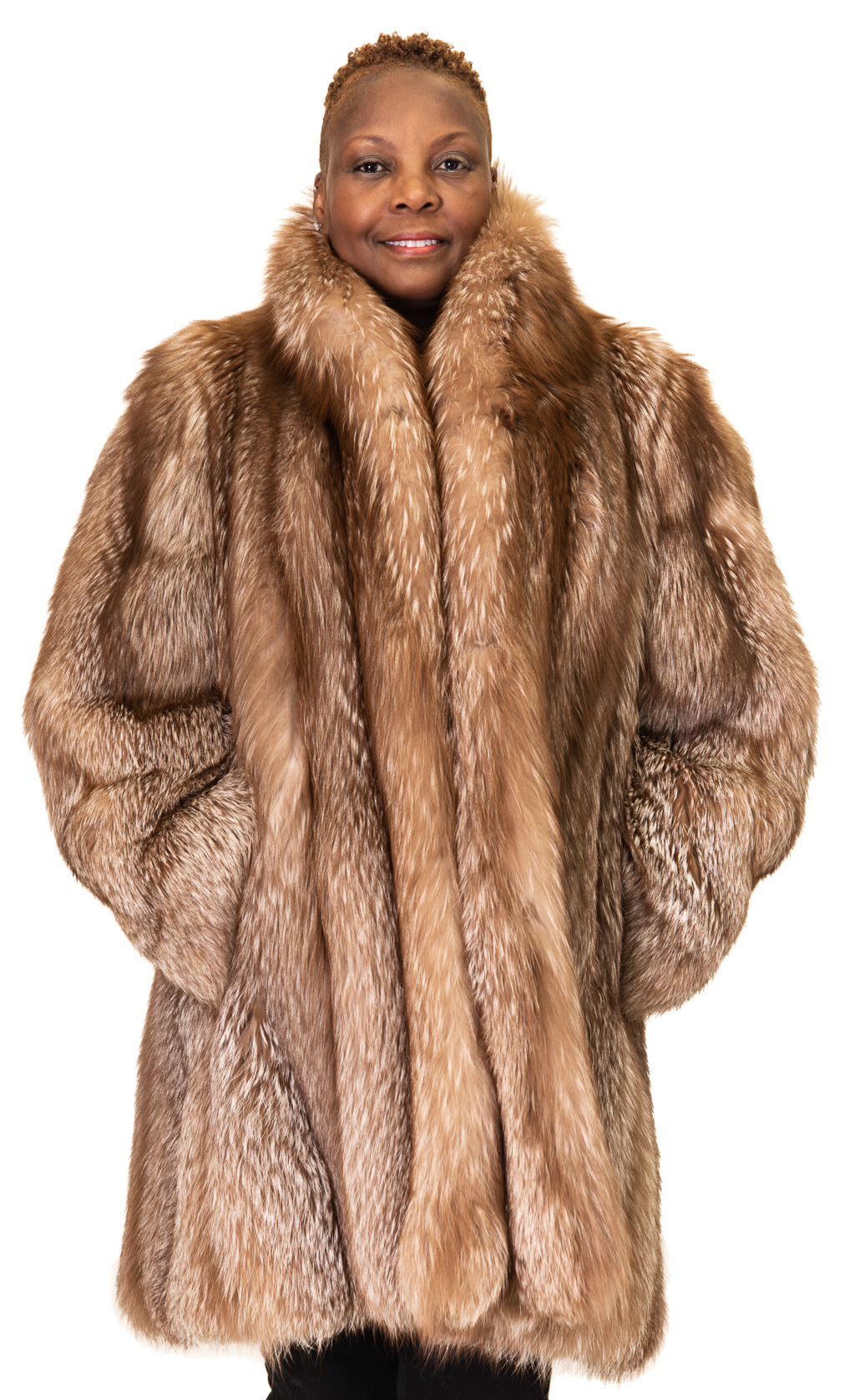 118 2 Silver Fox Ugent Furs