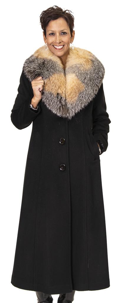 14 2 Cashmere Coat Ugent Furs