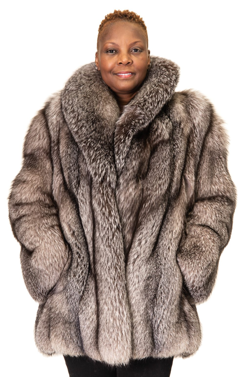 149 2 Silver Fox Ugent Furs