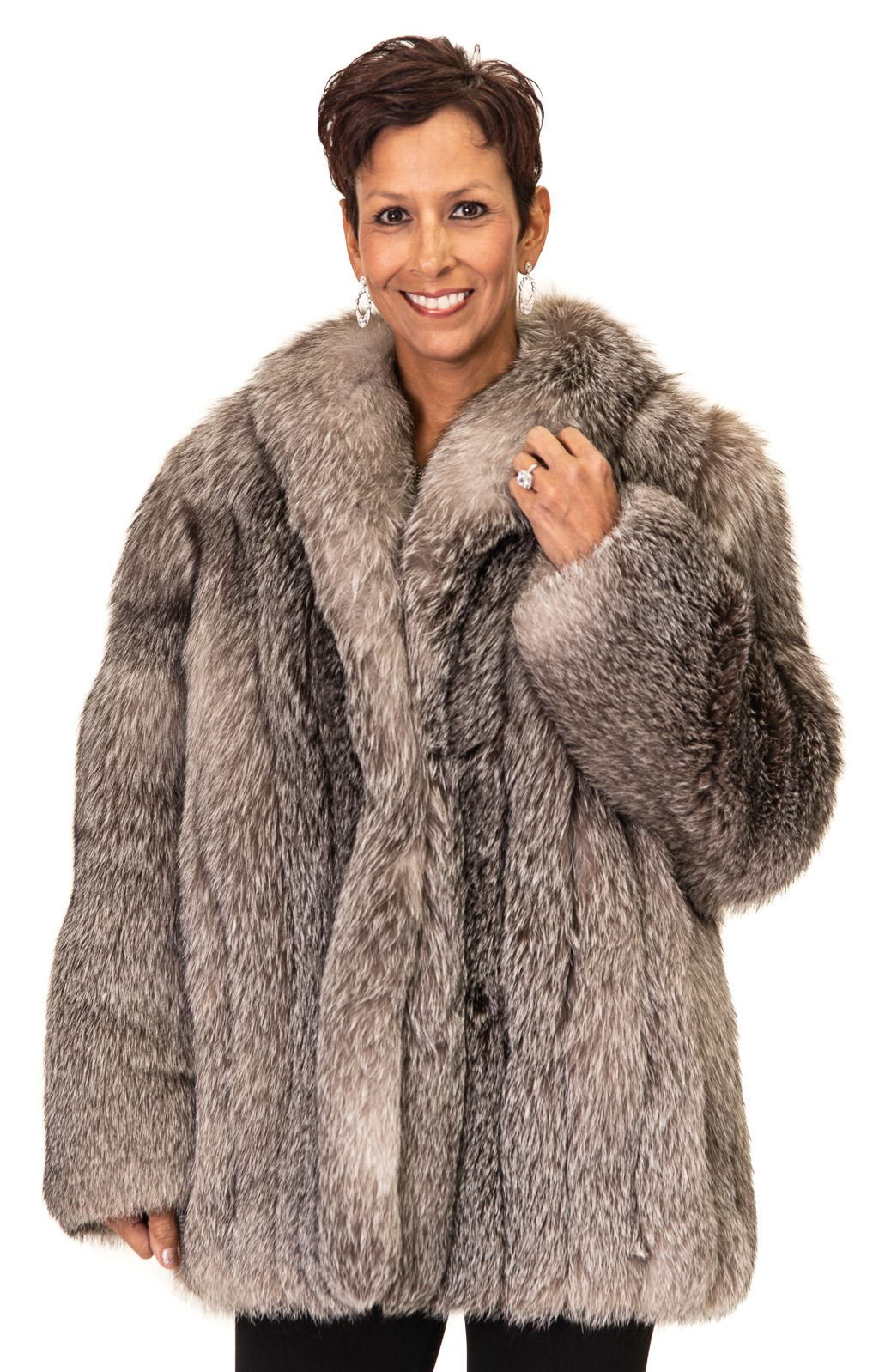 151 2 Silver Fox Ugent Furs