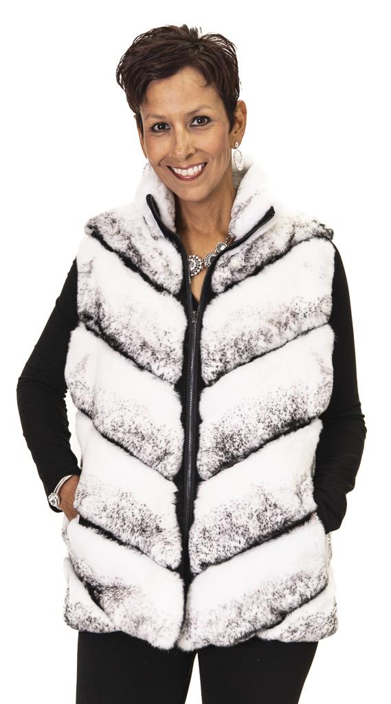 52 2 Rex Rabbit Vest Ugent Furs