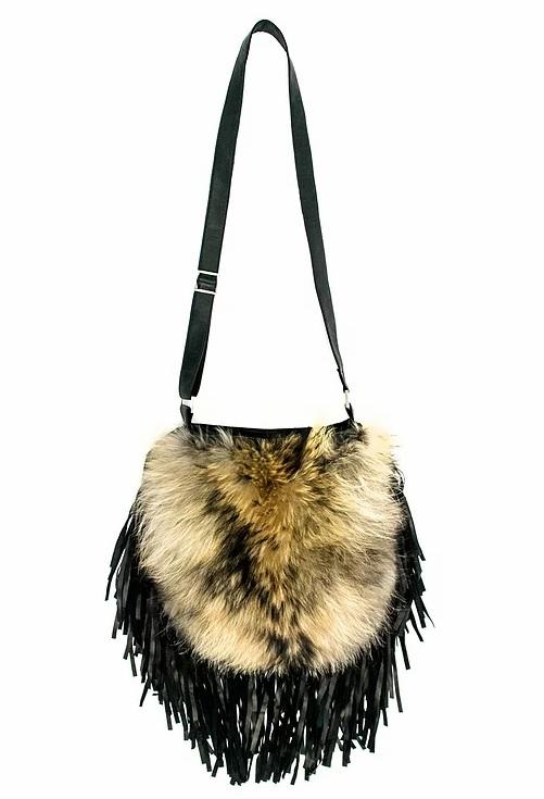 finn raccoon purse