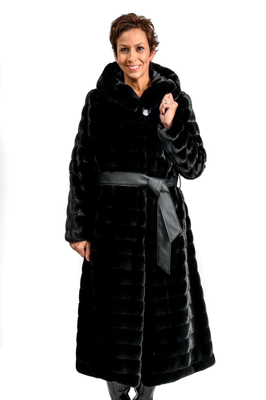 W52 2 Nuage Faux Fur Coat